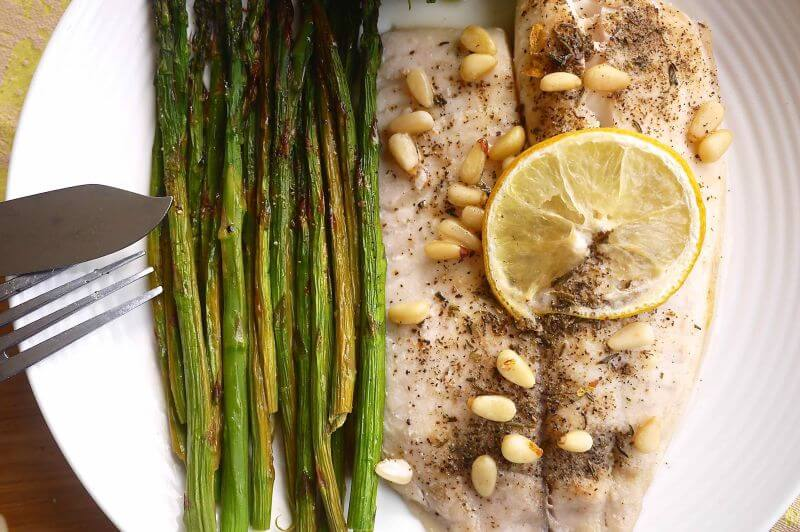healthy seafood Tilapia recipe