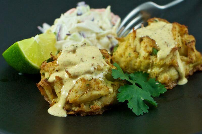 healthy seafood crab cake recipe