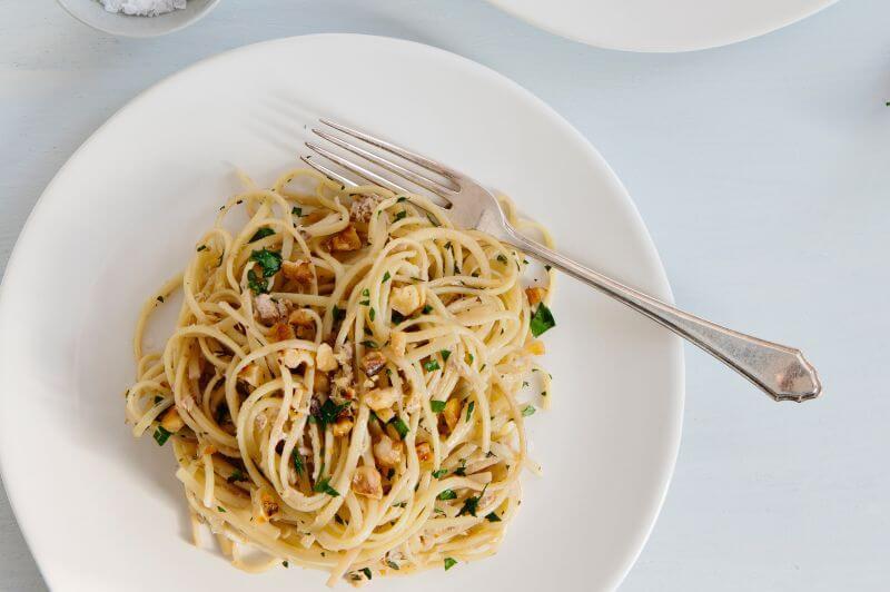 healthy seafood pasta recipe