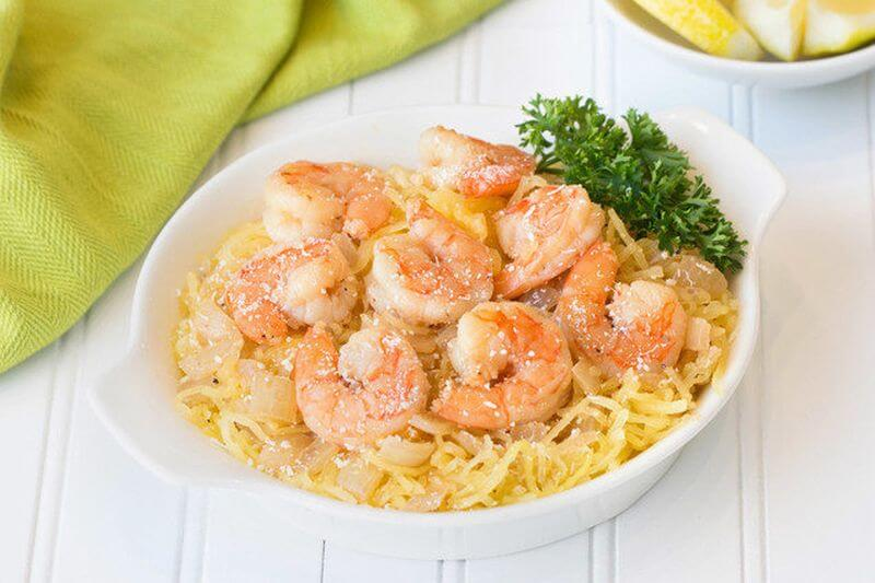 healthy shrimp scampi recipe