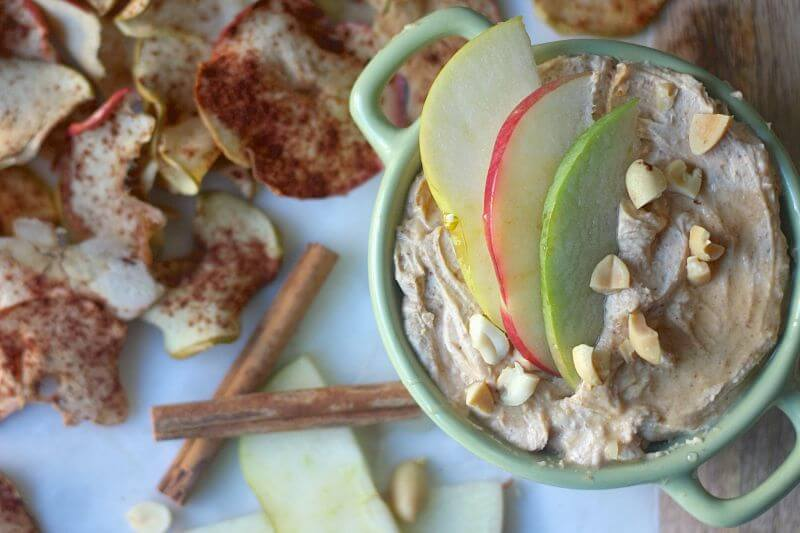 healthy sweet apple chips
