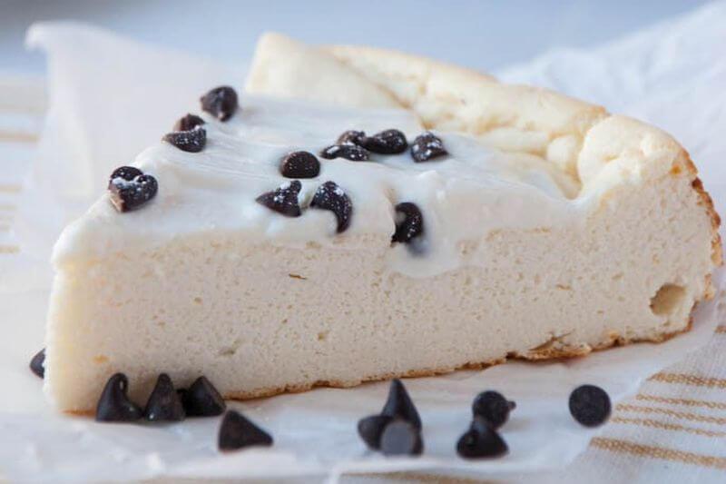 healthy sweet cheesecake snack