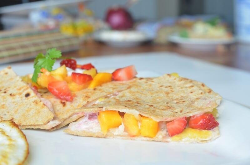 healthy sweet fruit snack