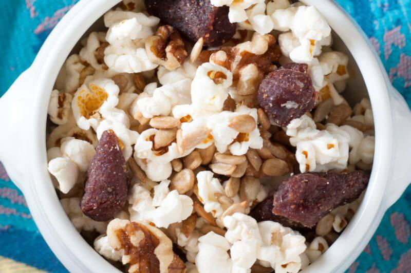 healthy sweet trail mix