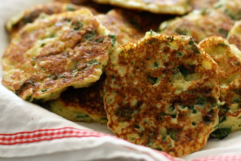 hidden vegetable fritters recipe