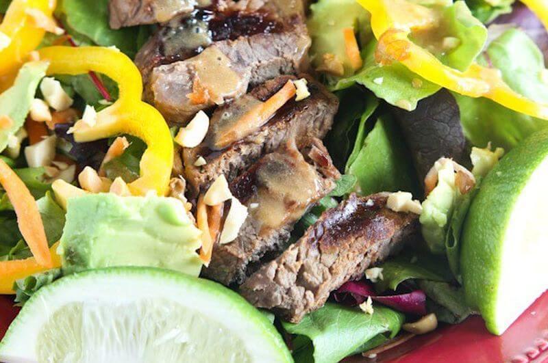 lean Sirloin Thai Salad