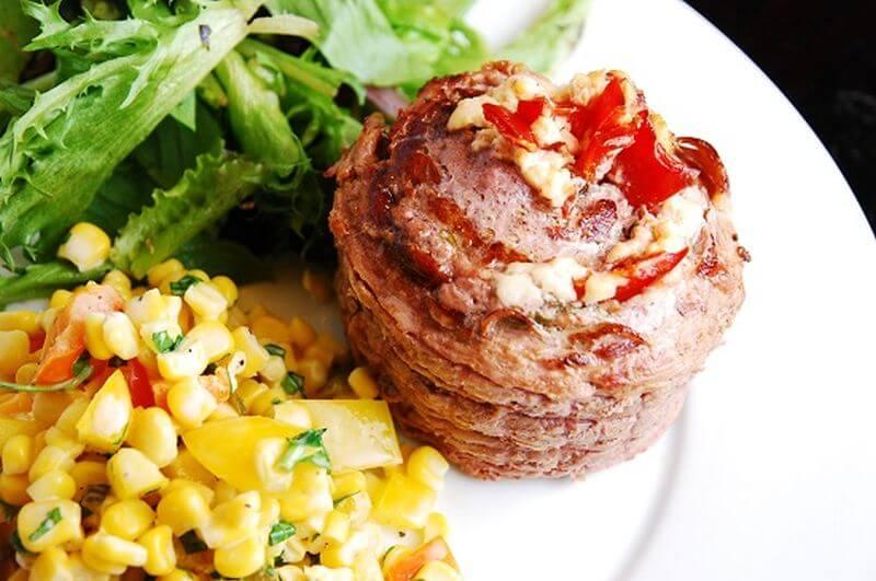 lean stuffed flank steak
