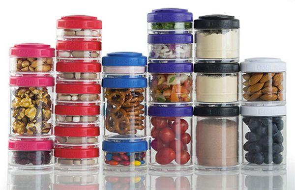 meal prep jars