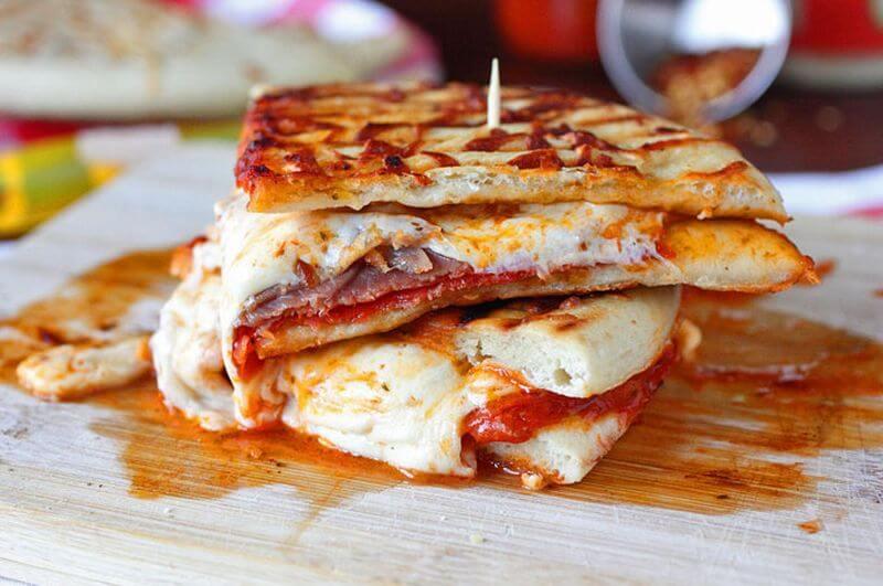 vegetable pizza panini recipe