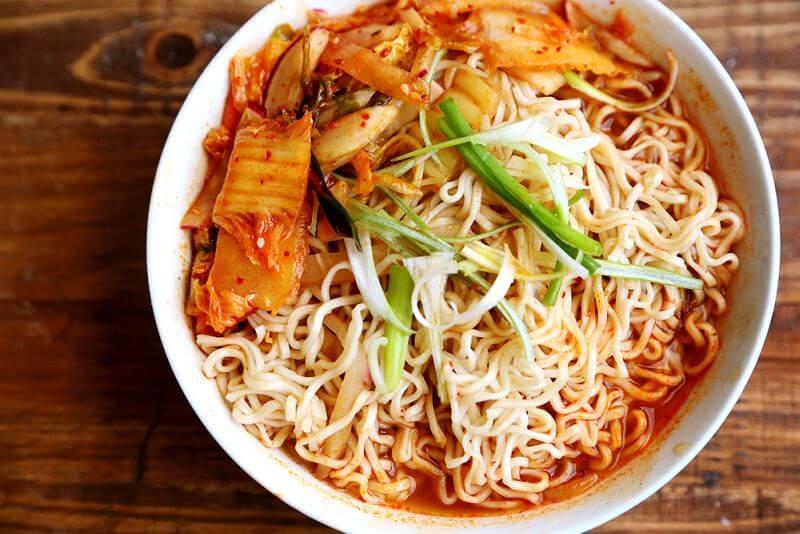 Healthy Kimchi Ramen Recipe