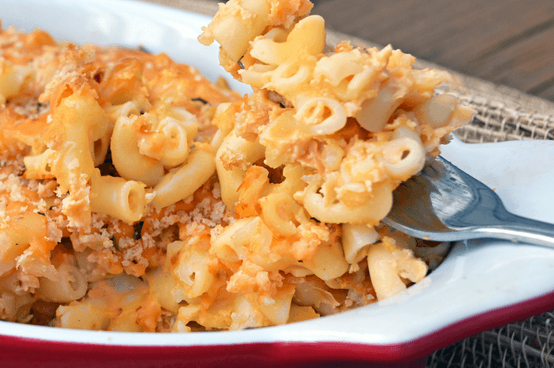 healthy Cauliflower Mac and Cheese