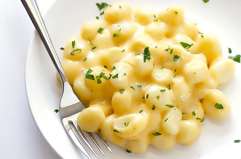 healthy Gnocchi Mac and Cheese