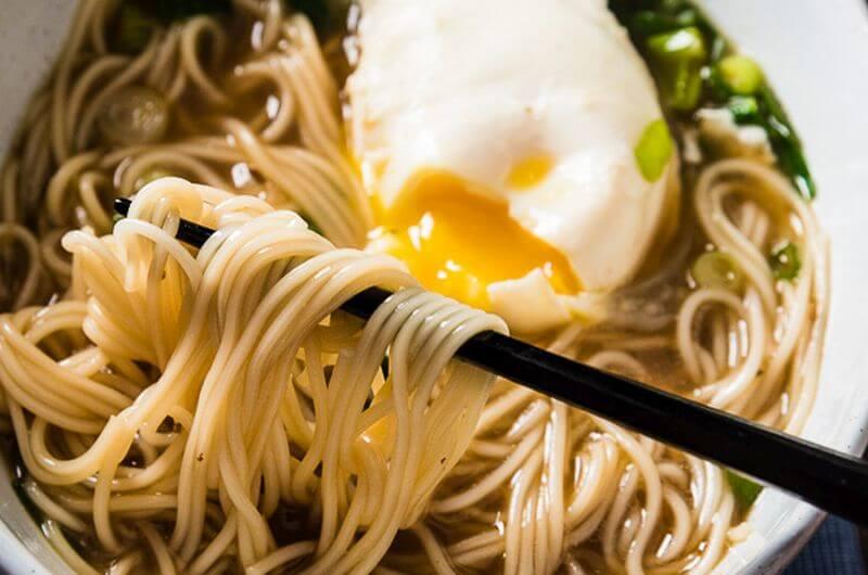 healthy Soy Sauce Noodle recipe