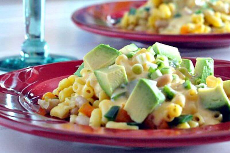 healthy Spicy Mac and Cheese