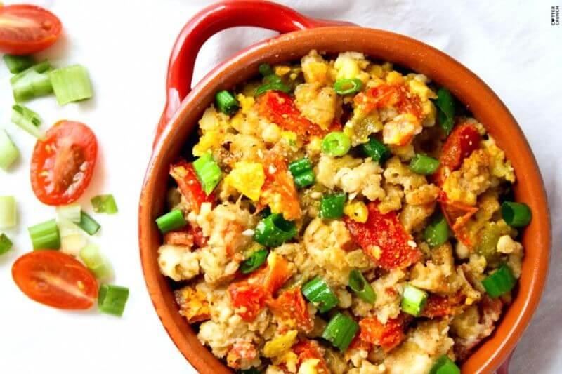 healthy chili mac and cheese