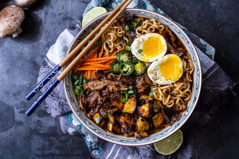 healthy crockpot ramen recipe
