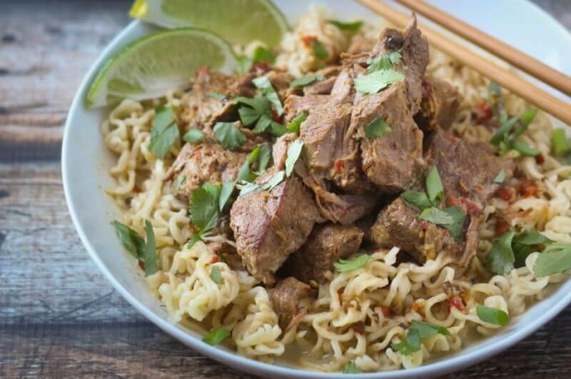 healthy curry ramen recipe