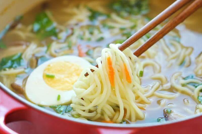 healthy homemade ramen recipe