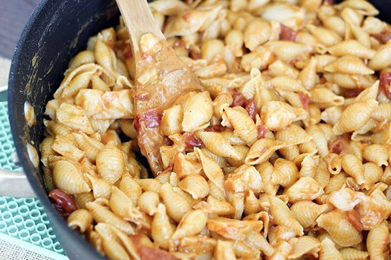 healthy lobster mac and cheese