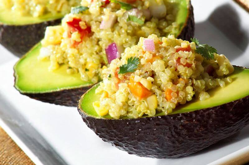 healthy quinoa avocado recipe