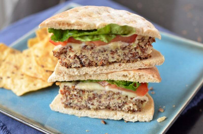 healthy quinoa burger recipe