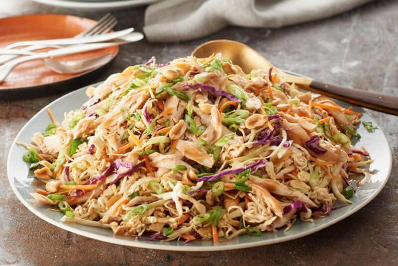 healthy ramen salad recipe