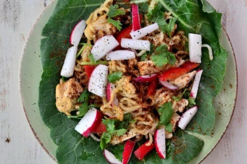 healthy ramen wrap recipe