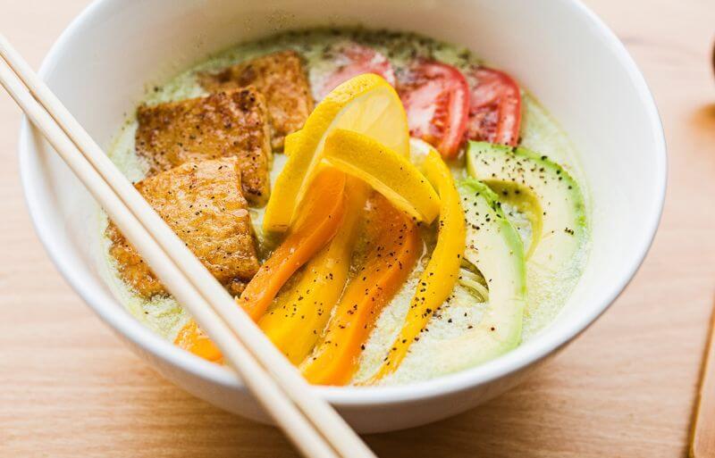 healthy tofu ramen recipe