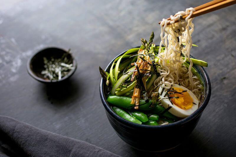 healthy vegetable ramen recipe