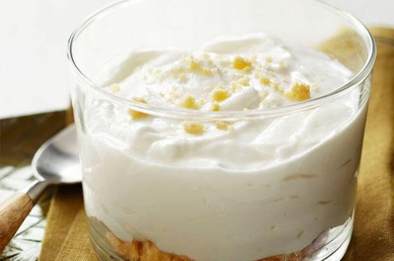 low fat mousse dessert