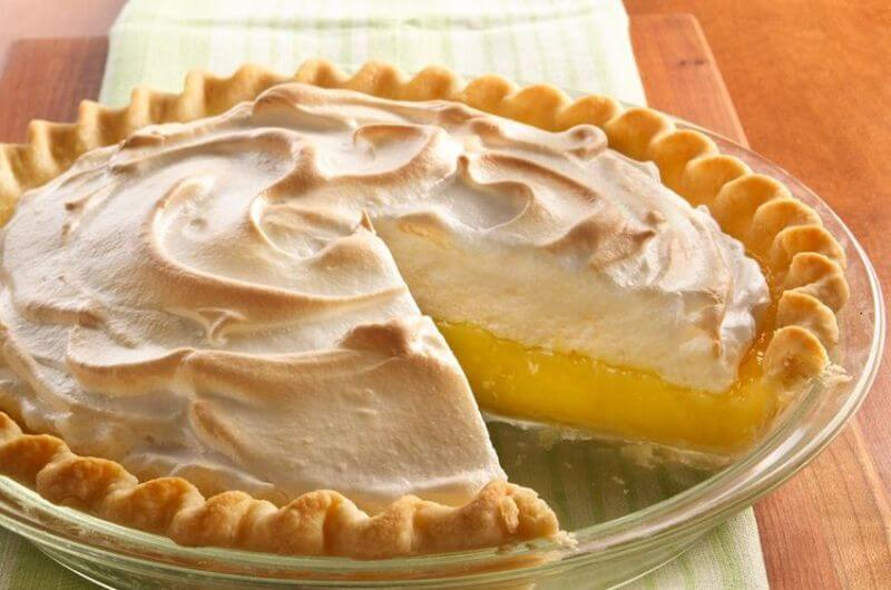 low fat pie dessert
