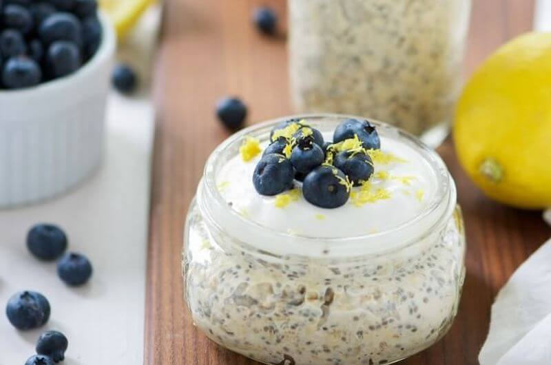 Blueberry Overnight Oats recipe