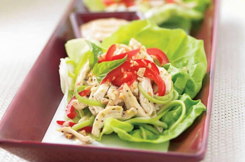 Chicken Lettuce Wrap recipe