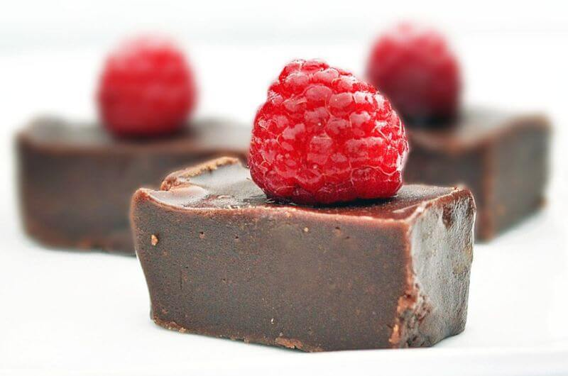 chocolate raspberry fudge recipe