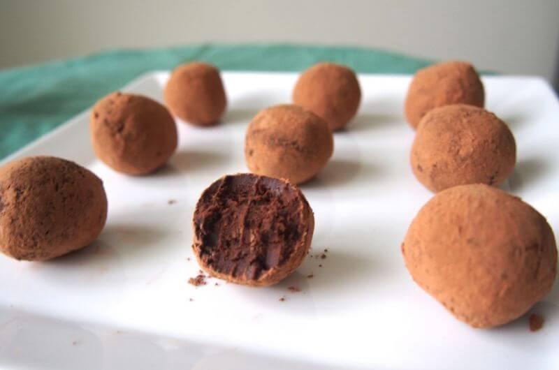 dark chocolate truffles recipe