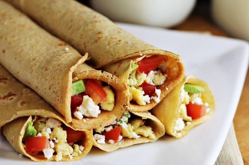 easy breakfast crepe recipe