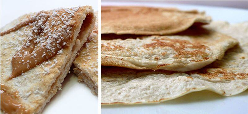 easy cottage cheese crepe recipe