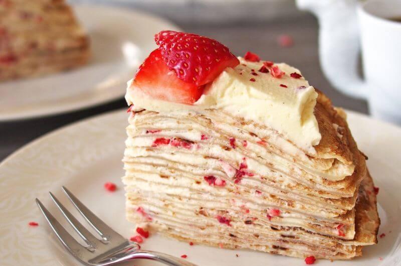 easy strawberry crepe recipe