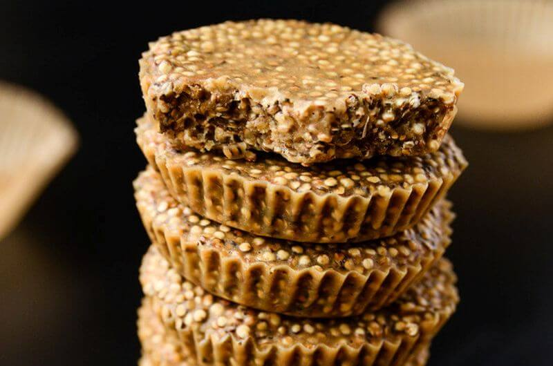 healthy no bake quinoa dessert recipe