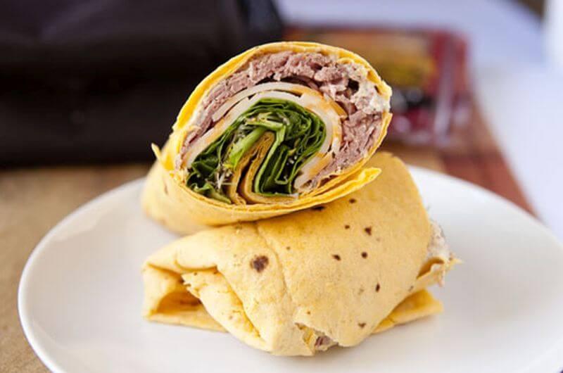 roastbeef wrap recipe