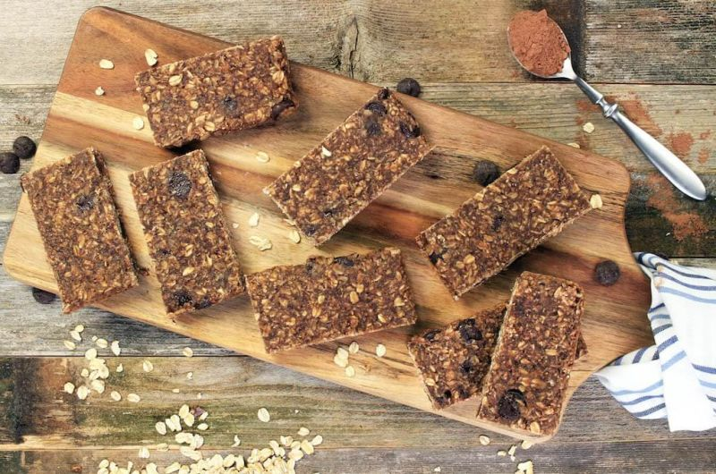 Chocolate Protein Bars recipe