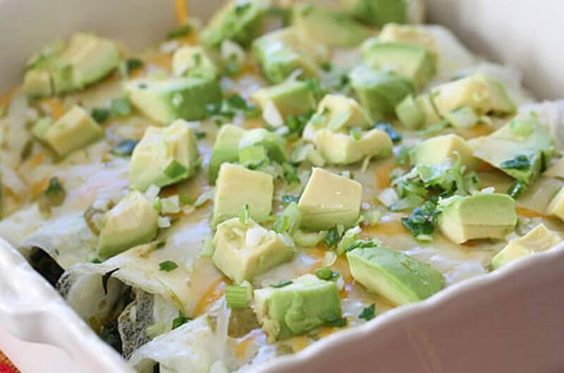 Egg White Spinach Omelet-recipe