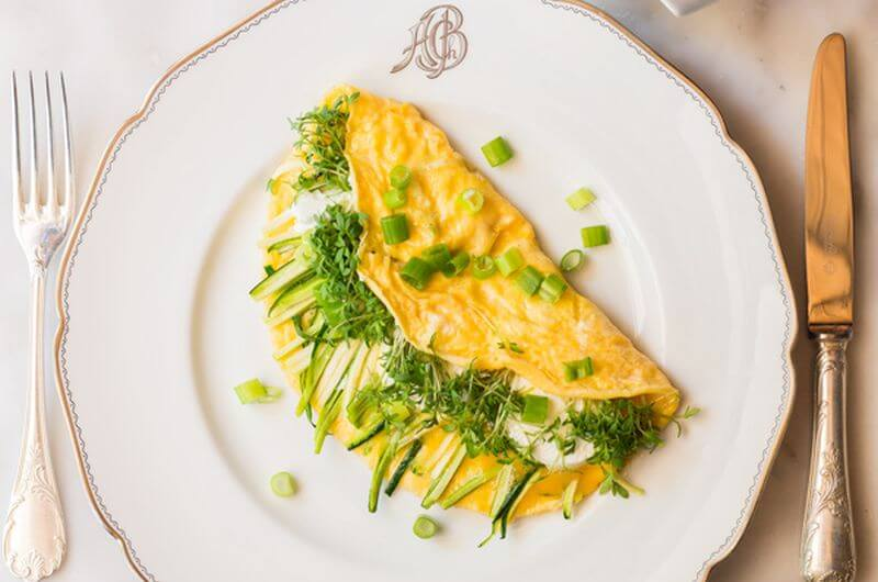 Goat Cheese Omelet recipe