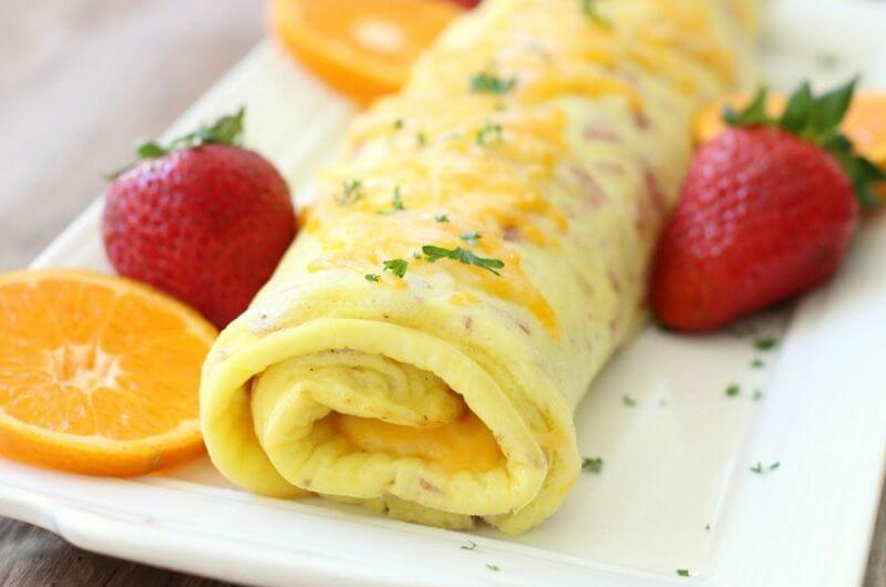 Ham Cheese Omelet recipe