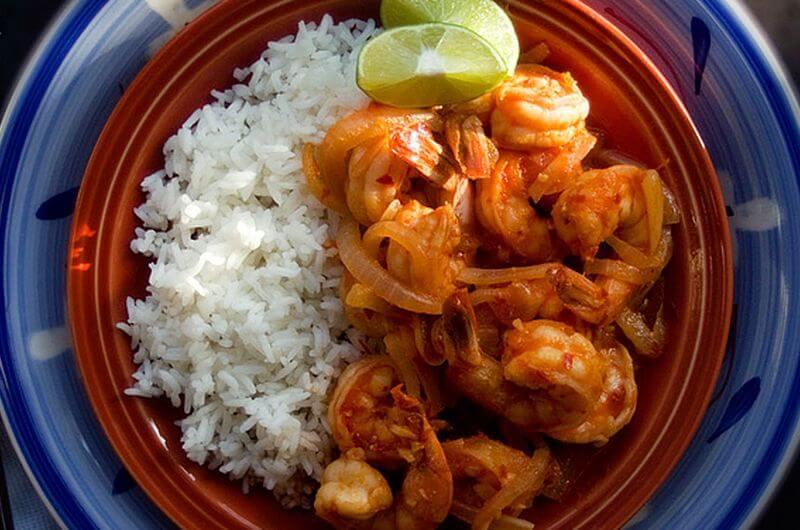 Mexican Shrimp recipe