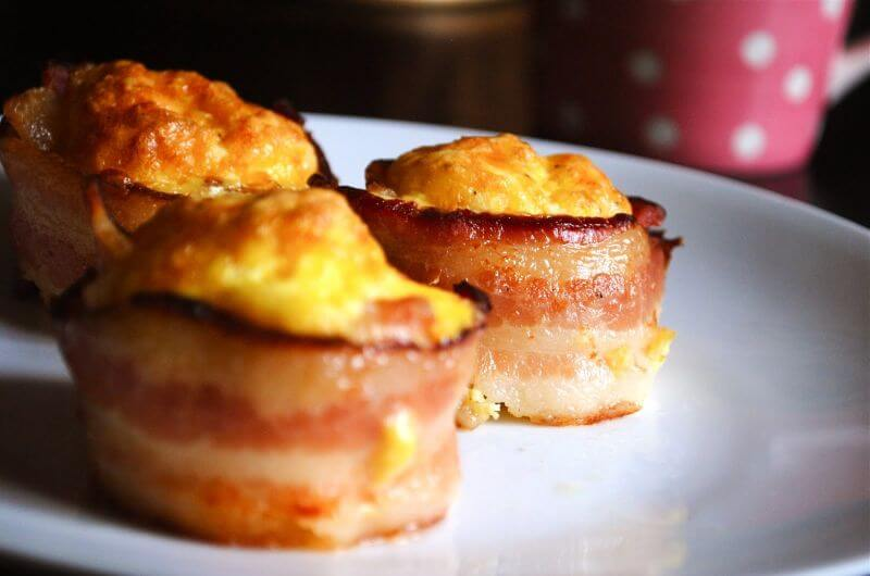 bacon wrapped omelet recipe