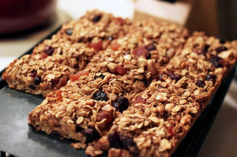baked oatmeal bars recipe