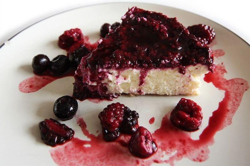 berry protein cheesecake recipe
