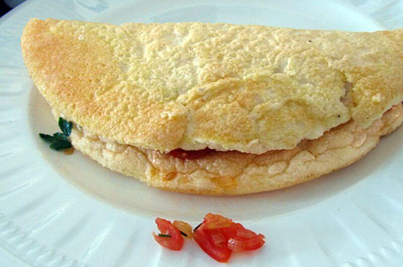 fluffy omelet recipe
