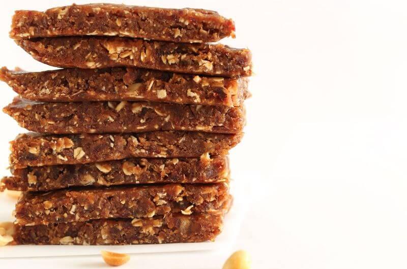 healthy peanut butter bar recipe